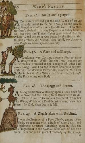 2025007: AESOP.  1708  Fables . . . Fifth Edition.  Wit