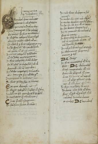 2025249: RELIGIOUS MISCELLANY.  Manuscript in Latin con