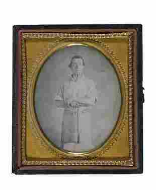 (CASED IMAGES) occupational Sixth-plate daguer