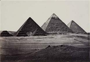 "FRITH, FRANCIS (1822-1898) ""The Pyramids of El"