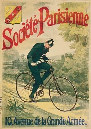2028012: Posters SOCIETE PARISIENNE. 50x36 inches. V. P