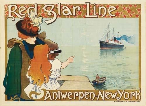 2028022: Posters HENRI CASSIERS (1858-1944). HENRI CASS