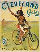 2028105: Posters PAL CLEVELAND CYCLES. 1898. 56x43 inch