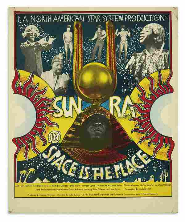 """(MUSIC.) Sun Ra in """"Space is the Place."""""""