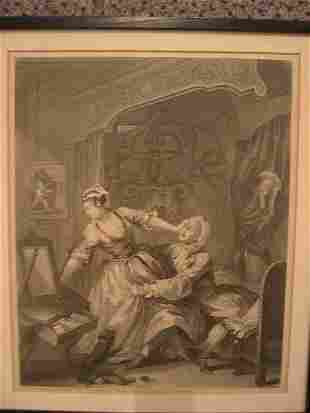 WILLIAM HOGARTH Before and After.
