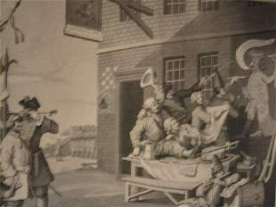 WILLIAM HOGARTH Collection of approximately 15