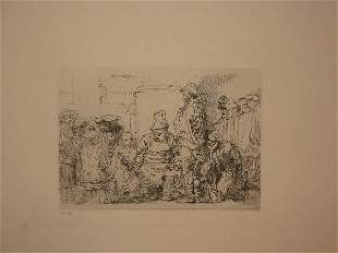 OLD MASTER PRINTMAKERS Collection of approxima