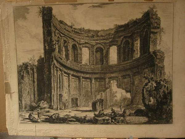 2029020: GIOVANNI B. PIRANESI Two etchings.