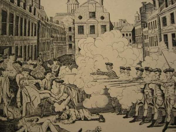 2029021: PAUL REVERE The Bloody Massacre Perpetrated in