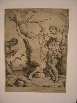 JUSEPE DE RIBERA The Martyrdom of St. Bartholo