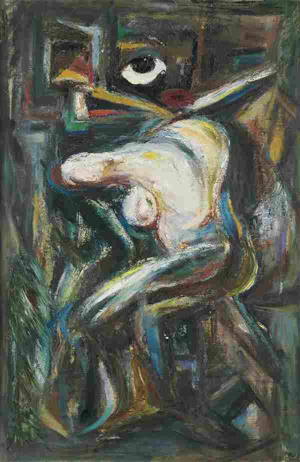 DOX THRASH (1892 - 1965) Untitled (Surreal Nude).