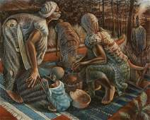 JOHN BIGGERS (1924 - 2001) Women, Ghana.