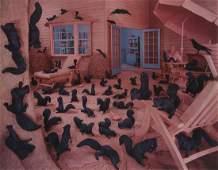 SANDY SKOGLUND (1946- ) Gathering Paradise.