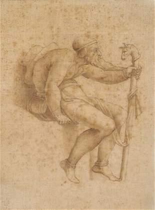 MICHELANGELO BUONARROTI (FOLLOWER OF) (Caprese