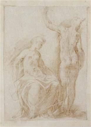 ITALIAN SCHOOL, 16TH-CENTURY A Seated Female N