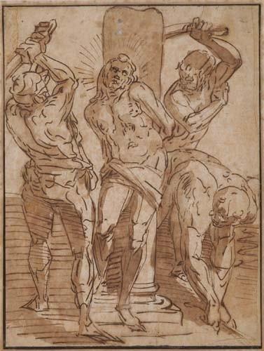 2030023: LUCA CAMBIASO (Genoa 1527-1585 Madrid) The Fla