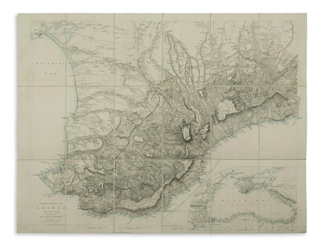 ARROWSMITH, JOHN. Southern Portion of the Crimea, from