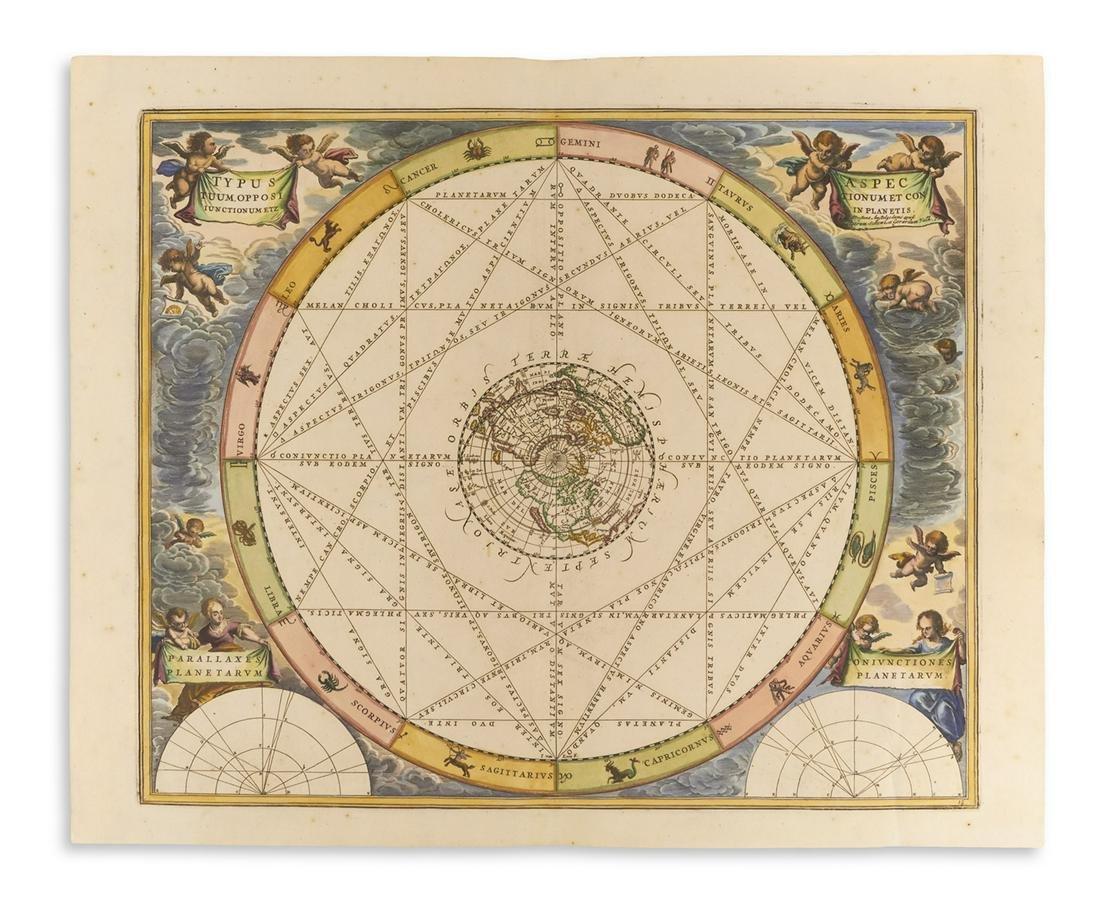 (CELESTIAL.) Cellarius, Andreas. Typus Aspectuum,