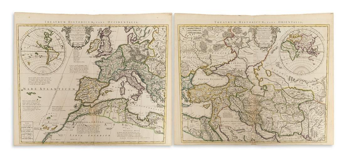 DE L'ISLE, GUILLAUME. Theatrum Historicum pars