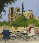"""LAURENT DE BRUNHOFF. """"Babar took them to see the"""