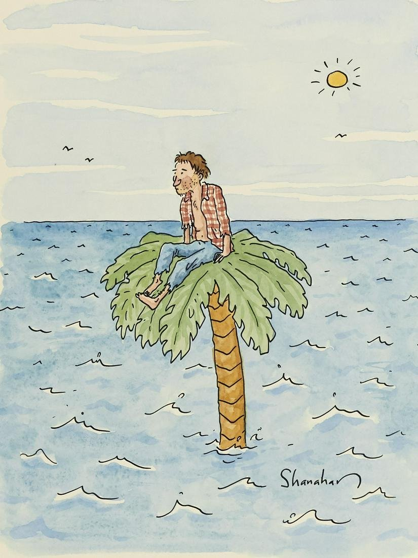 "DANNY SHANAHAN. ""High Rise."" [NEW YORKER / COVER ART]"