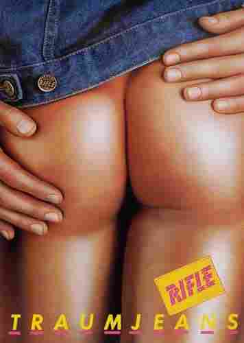 POSTER. ESPERT. RIFLE TRAUMJEANS. 39x27 inches