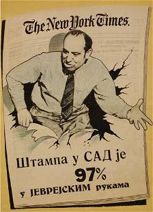 POSTER. DE SOTO. [97% OF THE MAERICAN PRESS IS