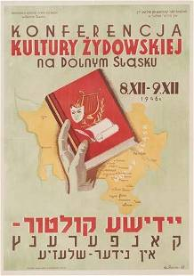 POSTER. G. SEGALLE [CONFERENCE OF JEWISH CULTU
