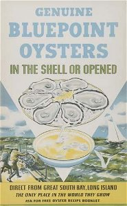 2031178: POSTER. KOTULA GENUINE BLUEPOINT OYSTERS. 22x1