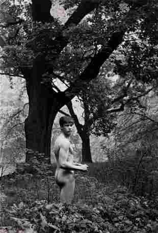 HERBERT LIST (1903-1975) Alexander in the Woods.