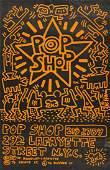 KEITH HARING (1958-1990) Pop Shop.