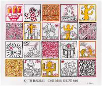 KEITH HARING (1858-1990) Keith Haring One Man Show