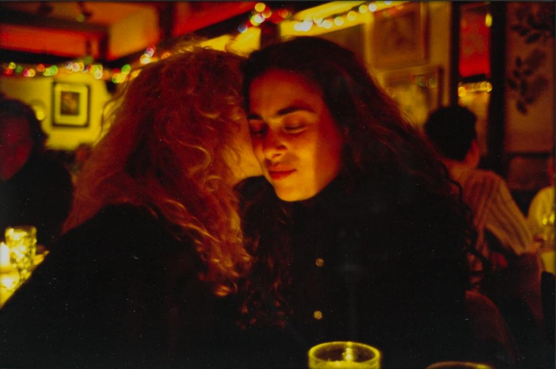 NAN GOLDIN (1953 - ) Lynette and Donna at Marion's