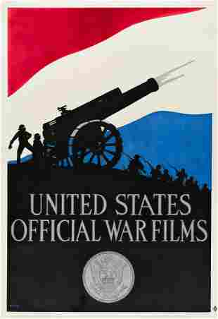 KERR (DATES UNKNOWN). UNITED STATES OFFICIAL WAR FILMS.