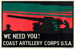 TOLSON (DATES UNKNOWN). WE NEED YOU! / COAST ARTILLERY
