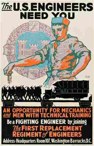 GEORGE CARLSON (DATES UNKNOWN). THE U.S. ENGINEERS NEED