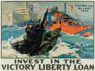 LEON ALARIC SCHAFER (1866-1940). INVEST IN THE VICTORY