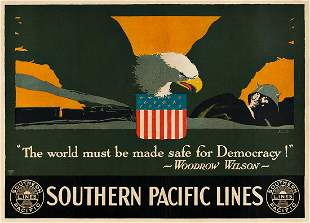 LOUIS FANCHER (1884-1944). SOUTHERN PACIFIC LINES /