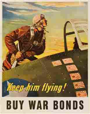 GEORGES SCHREIBER (1904-1977). KEEP HIM FLYING! / BUY
