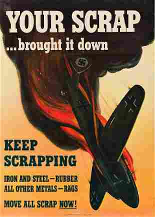 S. BRODER (DATES UNKNOWN). YOUR SCRAP . . . BROUGHT IT
