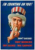 VARIOUS ARTISTS. [WORLD WAR II.] Group of 10 posters.