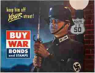 DESIGNER UNKNOWN. KEEP HIM OFF YOUR STREET! / BUY WAR