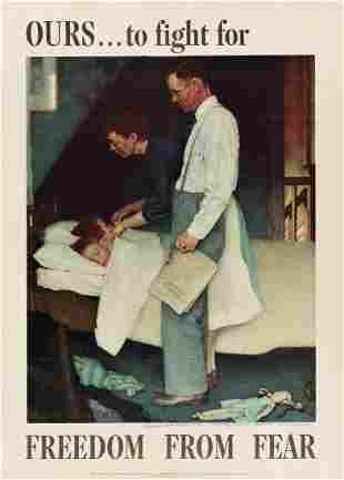 NORMAN ROCKWELL (1894-1978). [THE FOUR FREEDOMS.] Group