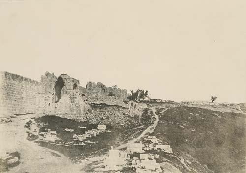 """2033002: SALZMANN, AUGUSTE (1824-1872) """"Jerusalem, Côte"""