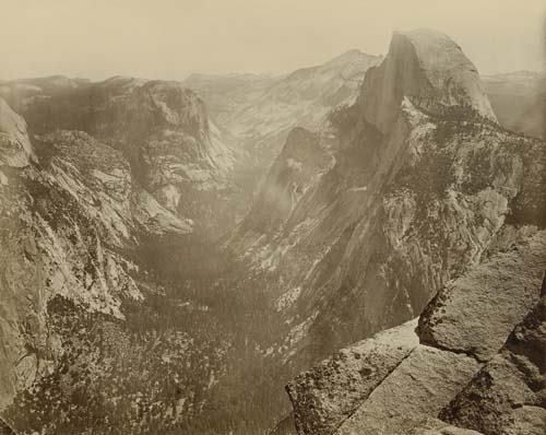 "2033007: WATKINS, CARLETON E. (1929-1916) ""Yosemite Val"