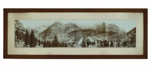 2033009: JACKSON, WILLIAM HENRY (1843-1942) Panorama of