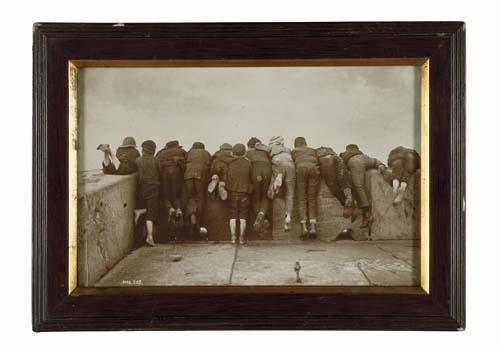 """2033015: SUTCLIFFE, FRANK MEADOW (1853-1941) """"Excitemen"""