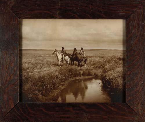"2033017: CURTIS, EDWARD S. (1868-1952) ""Three Chiefs, P"