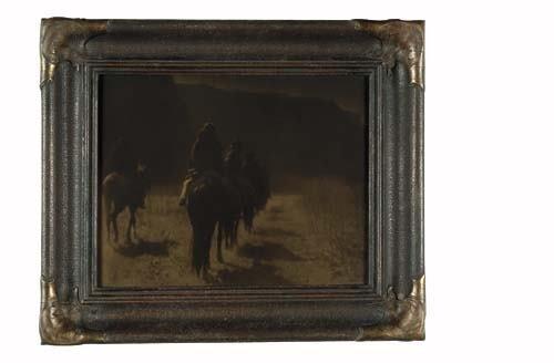 "2033019: CURTIS, EDWARD S. (1868-1952) ""The Vanishing R"