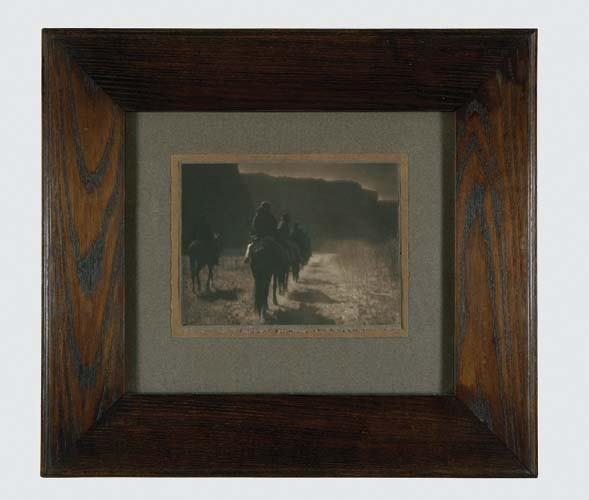 "2033020: CURTIS, EDWARD S. (1868-1952) ""The Vanishing R"